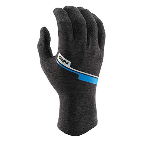 NRS Hydroskin Glove - Men's Grey Heather Large