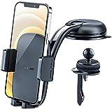 ACEFAST Handyhalterung Auto, 3 in 1 Lüftung & Saugnapf KFZ Handyhalter 360° Drehung Handy Halterung Auto Kompatibel mit iPhone Samsung Huawei Xiaomi Google LG