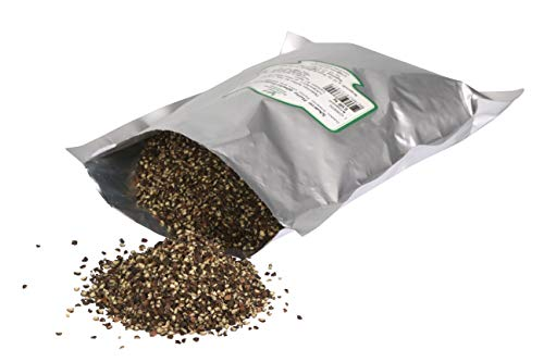 Schwarzer Pfeffer grob gemahlen 0,500 kg /gehackt/geschrotet/ Black Pepper Cracked/ Steakpfeffer, HoReCa, Prima Gewürzt, Gewürzgroßhandel Krefeld