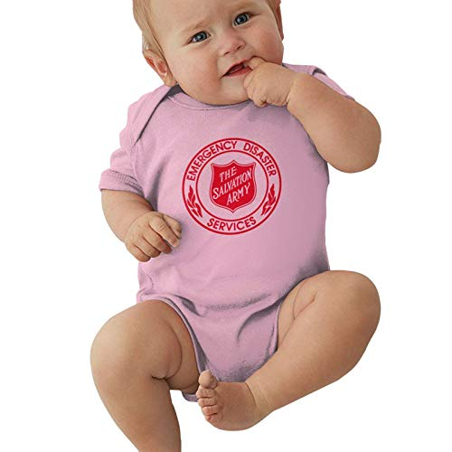 The Salvation Army Baby Boys Pijama Unisex Romper Baby Girls Body Infant Kawaii Jumpsuit Outfit 0-2t Niños,Rosa,0-3 Meses