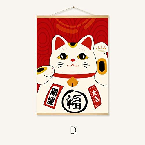 Decoratieve Schilderij Woonkamer Xuan Restaurant Opknoping Schilderij Woonkamer Veranda Japan Beauty Figuur Schilderij Picasso Olieverfschilderij Wandtapijt Porch Mural 70 * 50cm 230-d