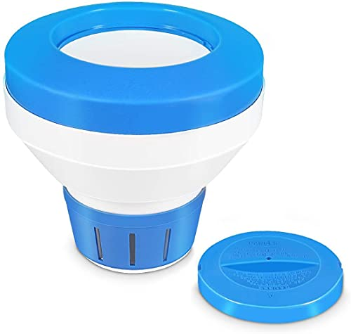 Chlorine Floater, Floating Chlorine Dispenser for Pool, Tablets Dispenser for Swimming 3 inch, Your Best Choice for Coming Summer