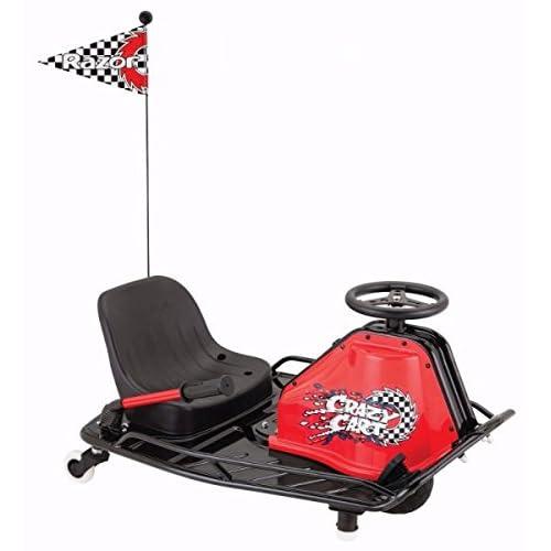 Razor Durable Adult Bucket Seat High Torque Motor Drifting Crazy Cart