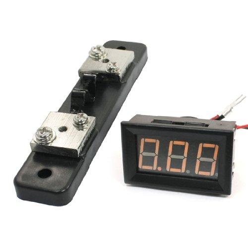 Aexit Am Panel montierte gelbe LED - Digitalanzeige Ampere - Messgerät Amperemeter 10A (9cd5ccc95af1009ae28746eb45298f8d)