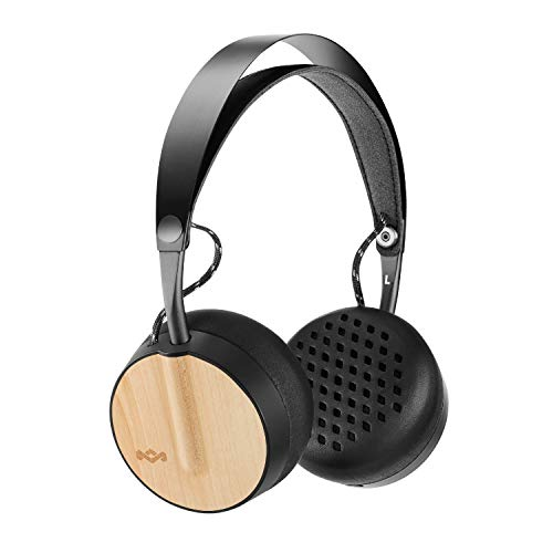 House of Marley Buffalo Soldier Bluetooth Over Ear Headphones with a Microphone, Mist