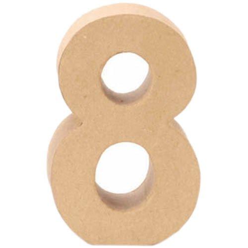 Creative P - Nombre 8, 17, 5x5, 5cm [Jouet]