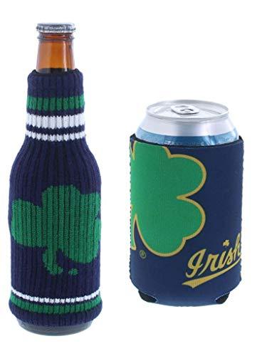 Set of 2 Notre Dame Irish CAN & Bottle Cooler