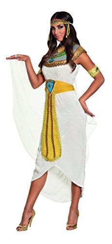 Boland - Erwachsenenkostüm Ägyptische Göttin Anuket, Kostümset für Damen bestehend aus: Stirnband, Kragen, Umhang, Kleid, Gürtel und Armbänder, Mottoparty, Karneval, Verkleidung