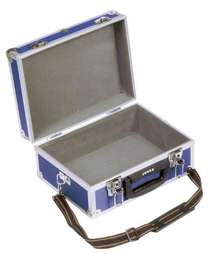 Cogex 62076 Valise de rangement couleur bleu avec bandoulière