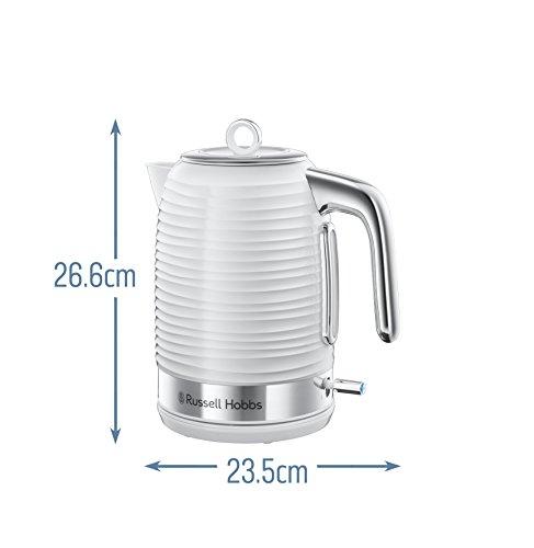 Russell-Hobbs-24360-Inspire-Wasserkocher-3000-W-17-Liter-Wei-mit-Chrom-Akzenten