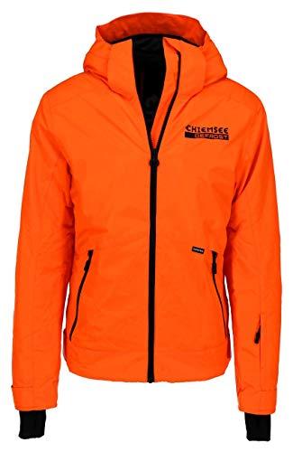 Chiemsee Skijacke mit großem Rückenprint 2XL Shock Orange
