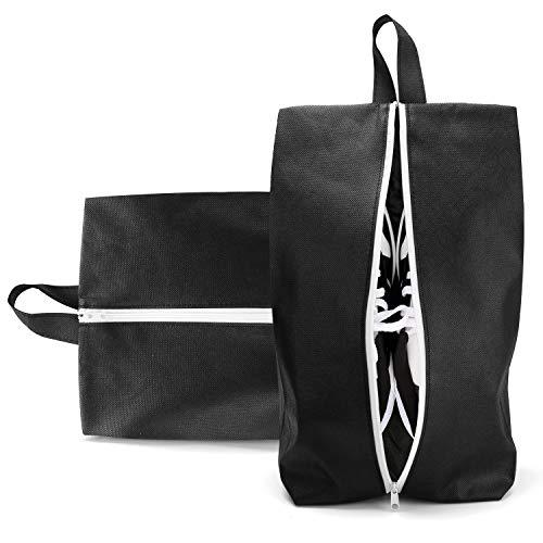 Wasserfeste Schuhbeutel Reise Uktunu ® Schuhtasche 2er Set Schmutzabweisender Schuhsack Reise für Schuhe, Urlaub Shoebag Tasche zur Trennung von Schuhen und Kleidung Reisezubehör Koffer, Gepäck