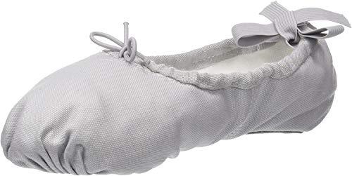 Sansha Zapatillas de ballet suaves unisex Pro 1C, color Gris, talla 41 1/3 EU
