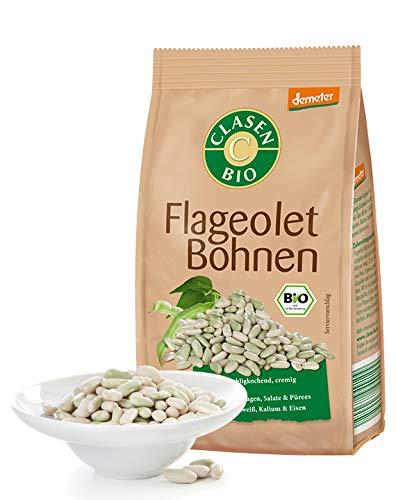 CLASEN BIO Demeter Flageolet Bohnen, getrocknet - 250g