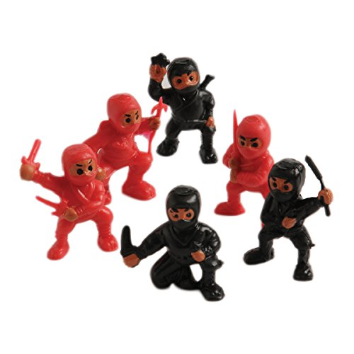 U.S. Toy Lot of 12 Assorted Ninja Action Figure Toys