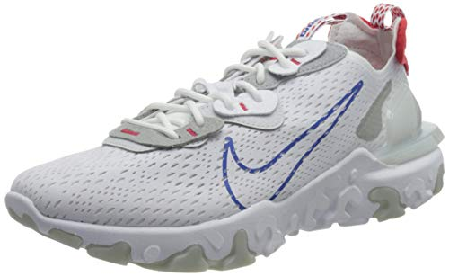 Nike Herren React Imaginative and prescient Laufschuh, White Sport Royal Pure Platinum, 44 EU thumbnail