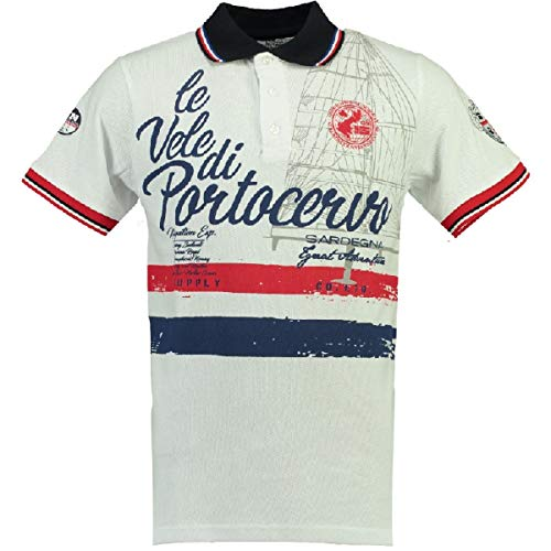 Geographical Norway Polo Manches Courtes Coton Kingsley SS Men