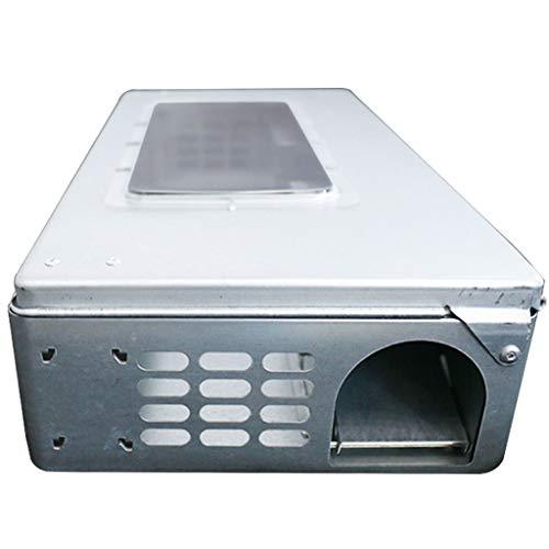 Trampa para ratas Mousetrap de metal mecánico grande Continuo Mousetrap Loop Control de control de roedores, trampa de mouse fácil de usar Trampa de jaula ( Color : A , tamaño : 40.5*20.5*9CM )