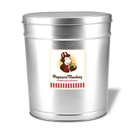 Review Popcorn Monkey Gourmet Gift Tin