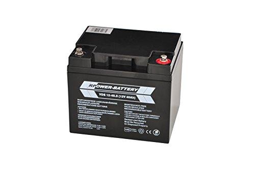 12V 40Ah RPower VDs Batterie für Gefahrenmeldeanlagen (BMA, EMA, ÜMA, ELA)