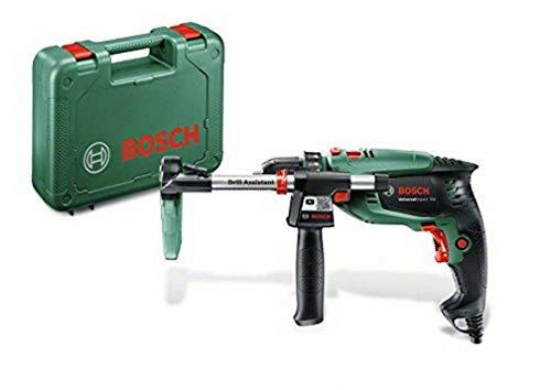 Bosch Home and Garden 0603131001 Taladro percutor, 700 W, 230 V, Negro y verde