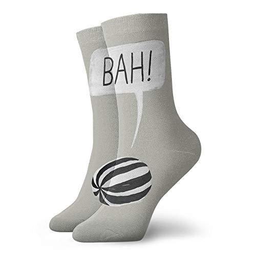 Rajfoo Bah Humbug Calcetines Personalizados Deportivos Medias Deportivas 30cm Calcetín Para Hombres Mujeres