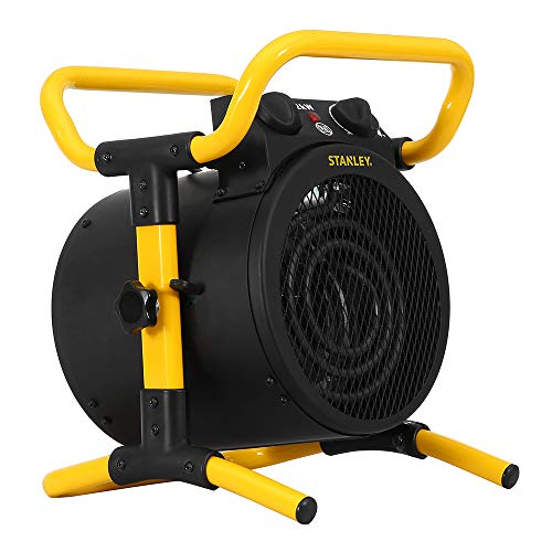 STANLEY Elektrischer Heizlüfter mit Regulierbarem Thermostat und Überhitzungsschutz, Leicht, Tragbar und Geräuscharm ST-52-241-E