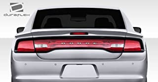 Brightt Duraflex ED-ZMS-337 Circuit Rear Wing Trunk Lid Spoiler - 3 Piece Body Kit - Compatible With Charger 2011-2014