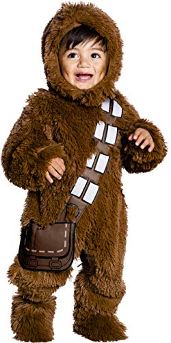 Star Wars Classic Chewbacca Deluxe Plush Costume Romper, Toddler