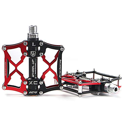 Cyrusher Cycling Pedals (Red)