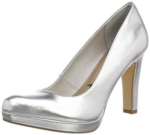 Tamaris Damen 1-1-22426-22 Pumps, Silber (Silver 941), 38 EU