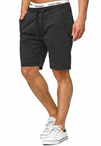 Indicode Herren Kelowna Chino Shorts mit 4 Taschen & Kordel aus 98{bf57cf7d842e0c73081f8881362dc04ef4444cd5ce78dcc676e673a14ef653fe} Baumwolle | Kurze Hose Regular Fit Bermudas Sommerhose Herrenshorts Short Men Pants Chinohose für Männer Navy XL