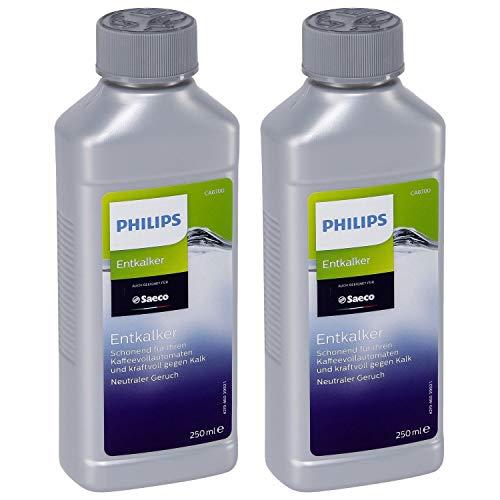 2er Pack Philips Saeco Entkalker CA6700/99 für Espressomaschinen / Kaffeevollautomaten à 250 ml