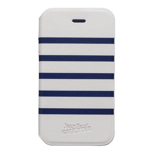 Jean Paul Gaultier flipcase bookstyle Sailor wit/blauw voor Sony Xperia E
