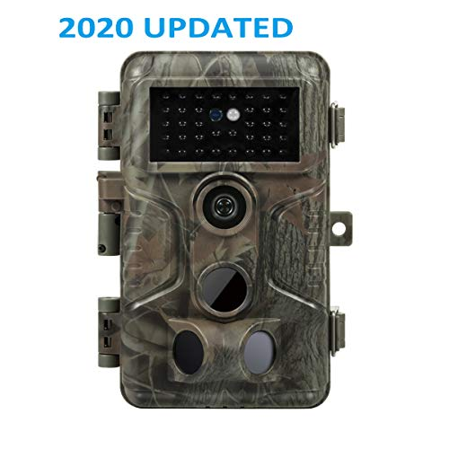 Meidase S3 Trail Game Cameras 20MP HD 1080P H.264, Fast 0.1s Trigger Time, 0.5s Recovery Time, 82ft Motion Detecting, 100ft Night Vision, Waterproof Cams for Outdoor Wildlife Deer Hunting