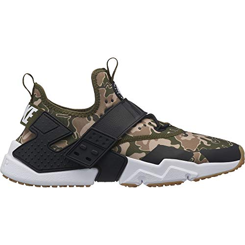 Nike Mens Air Huarache Drift Running Shoes (8.5, Olive Canvas/Black-Canteen-Desert Ore) (7.5,...