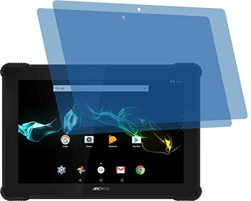 4ProTec I 2X GEHÄRTETE ANTIREFLEX matt 3D Touch Schutzfolie für Archos 101 Saphir Displayschutzfolie