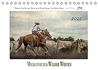 Mecklenburgs Wilder Westen (Tischkalender 2022 DIN A5 quer): Westernreiten - Faszination und Leidenschaft (Monatskalender, 14 Seiten )