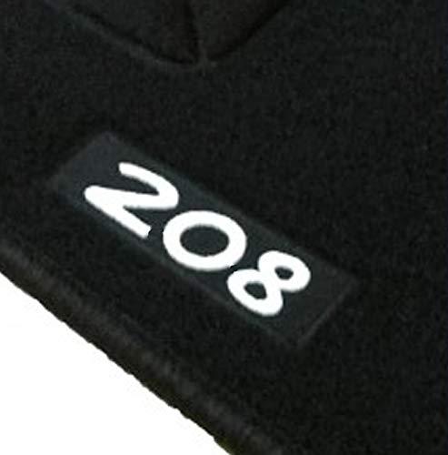 Alfombrillas Peugeot 208 a Medida Logo   Rey Alfombrillas®