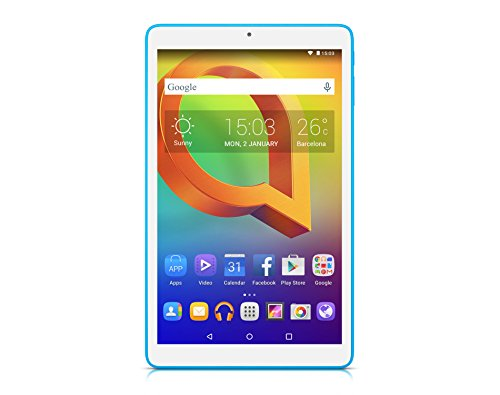 Alcatel 8079-2DALWE1 A3 (10) Tablet-PC (AMD A4 Cortex-A7, 64GB harde schijf, 1GB RAM, Android 5.0) wit
