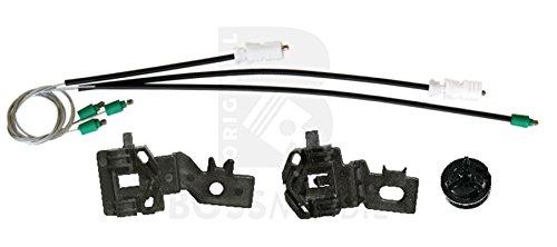 Bossmobil QASHQAI +2 (J10, JJ10), Delantero izquierdo, kit de reparación de elevalunas eléctricos