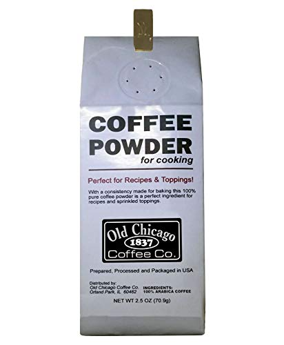 Coffee Powder for Cooking and Baking Recipes, 2.5 Oz