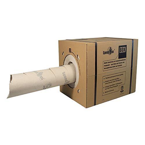 1x SpeedMan BOX Stopfpapier, 100% Altpapier, 70 g/qm, 390 mm x 450 lfm