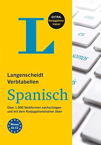 Langenscheidt Verbtabellen Spanisch: Über 1.000 Verbformen nachschlagen und mit dem Konjugationstrainer üben