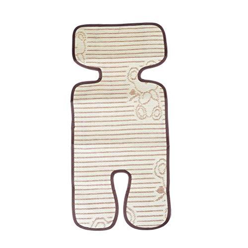 FIFY WLA Infant Summer Baby Poussette Mat Pad Cool Linen Universel Bébé Landau Accessoires Poussette Siège Doublure Matelas 78 * 31 CM, A