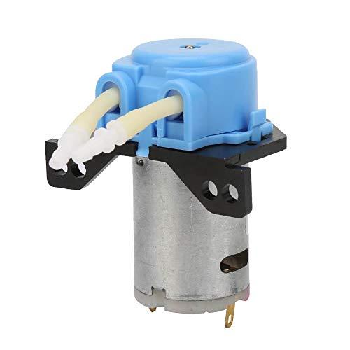 Schlauchpumpe, DC6V Micro Water Liquid Schlauchpumpe für Aquarium Lab Analytical 2 * 4mm(Blau)