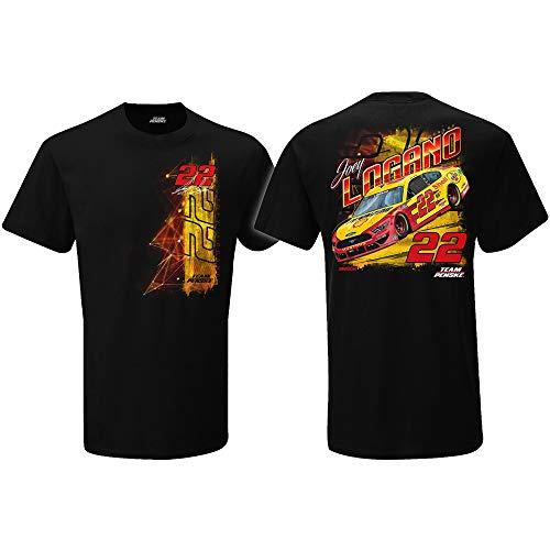 Classic Ink Joey Logano 2021 Shell Pennzoil Car T-Shirt Black (2X-Large)