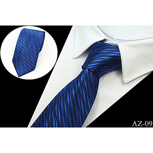 YUFSHU Silk Men Tie 8Cm Striped Classic Business stropdas voor mannen pak voor bruiloft stropdas Factory Sale 09