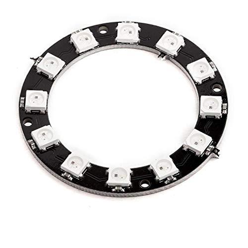 AZDelivery 5V RGB LED Ring WS2812B 12-Bit 50mm kompatibel mit Arduino