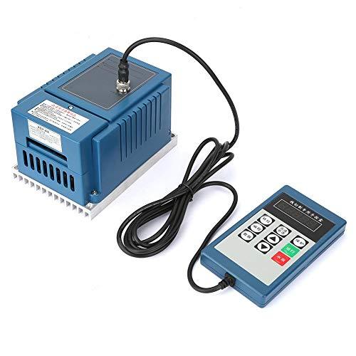Drehzahlregler für VFD-Motorwechselrichter, AC220V 0,75 kW Frequenzumrichter für Frequenzumrichter mit variablem Frequenzumrichter und Fernbedienung für die Drehzahlregelung von Wechselstrommotoren